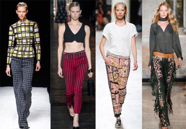 Женские брюки весна лето 2017 доставка