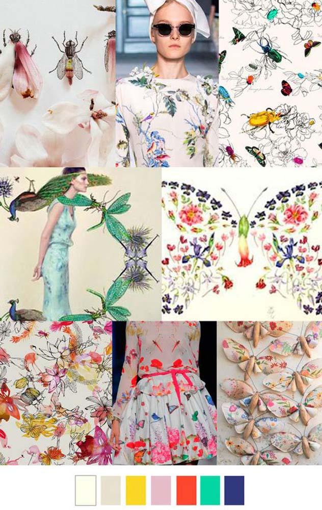 модные принты весна 2017 1