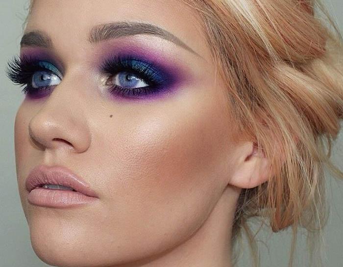 модный макияж для блондинок на выпускной 2017 2