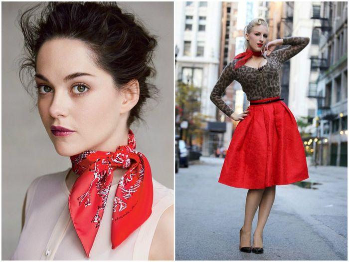 модные платки, фото 3