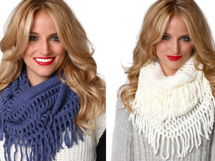 модные шарфы, фото 3
