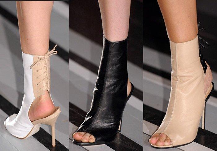 классические туфли и ботильоны на высоком каблуке 4