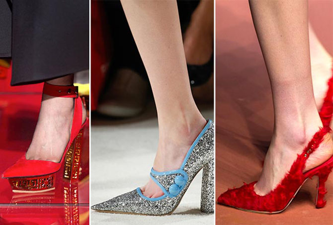 модные и красивые туфли в романтическом и ретро стилях 1