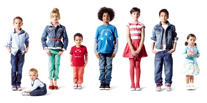 модные цвета в детской моде