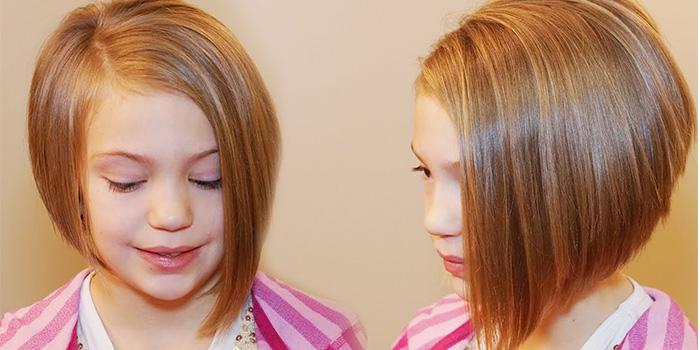 детские прически на короткие волосы для девочек 1