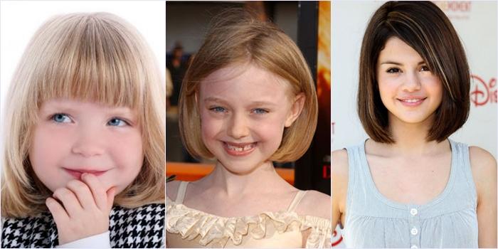 детские прически на средние волосы для девочек 1