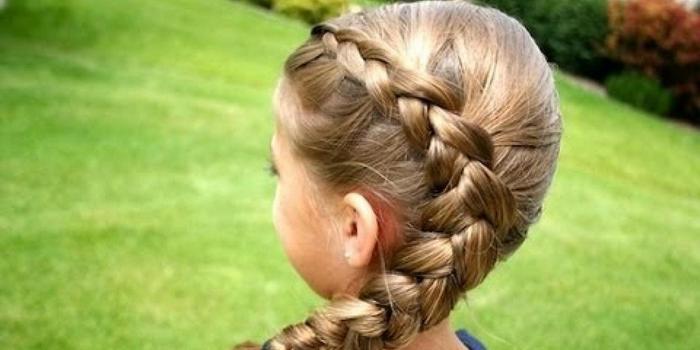 детские прически на длинные волосы весна-лето 2017 для девочек 3