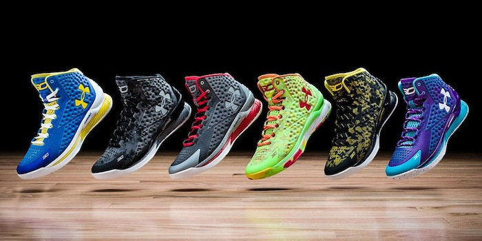 разноцветные кеды и кроссовки