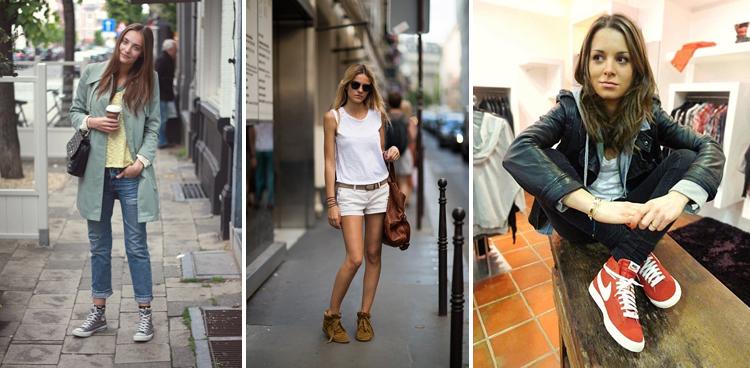 с чем носить кеды и кроссовки 2