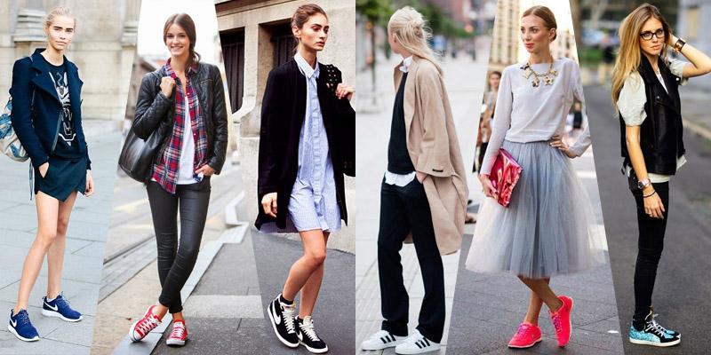 с чем носить кеды и кроссовки 4