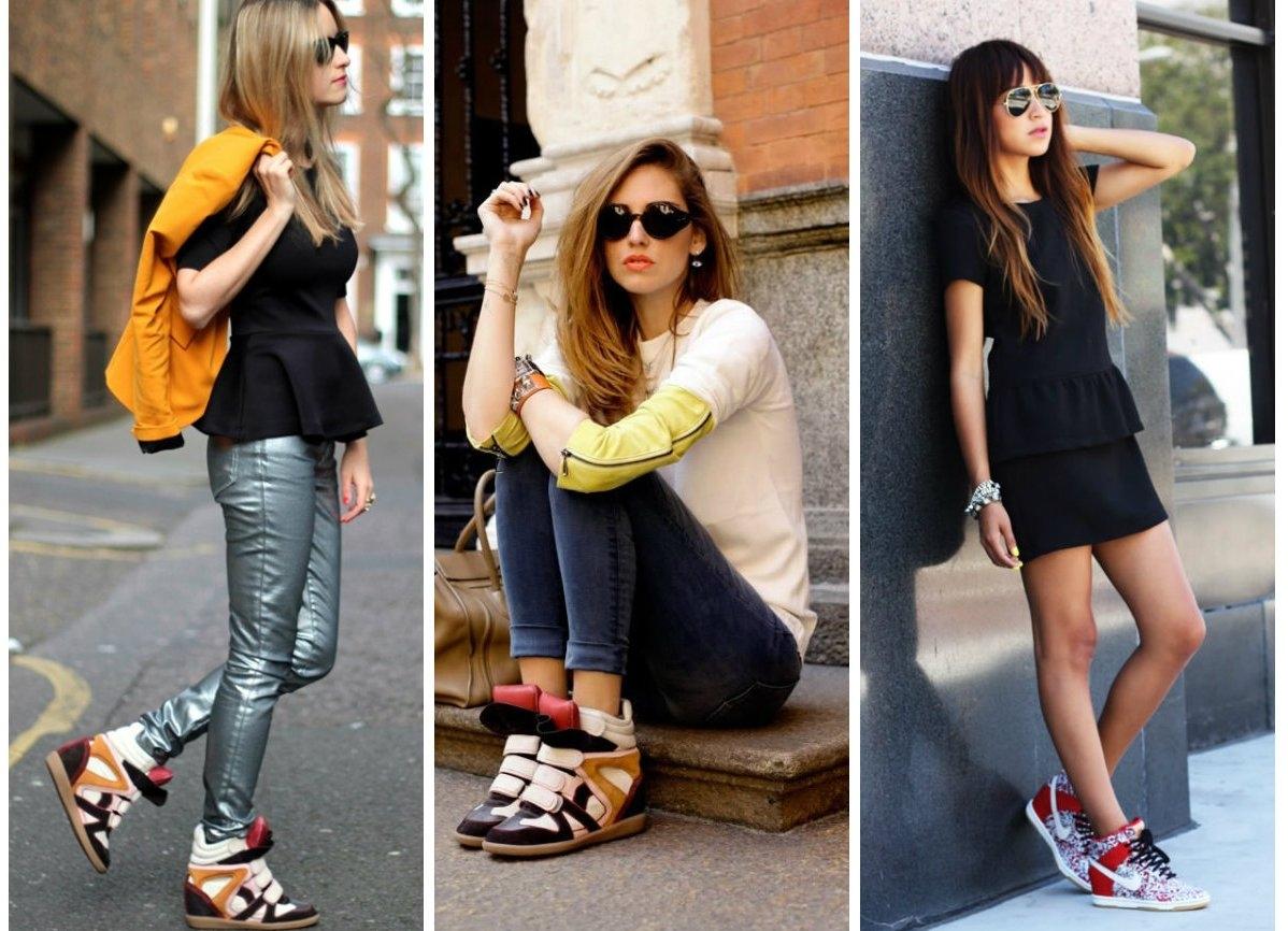 с чем носить кеды и кроссовки 6