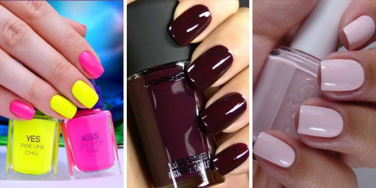 Модные цвета ногтей лето 2017