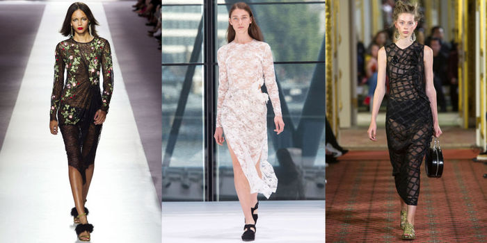полупрозрачные и прозрачные платья 1
