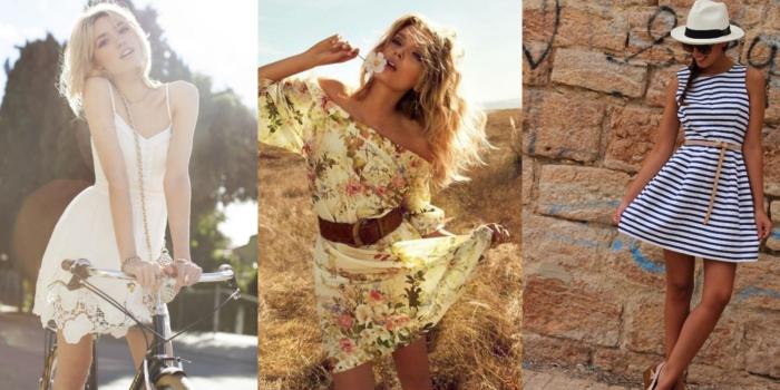 красивые и модные летние платья 2017, фото 1