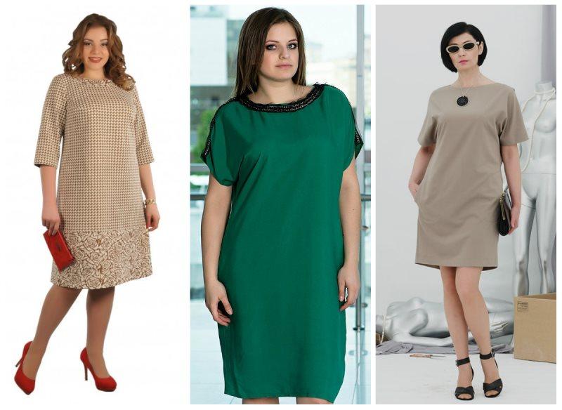 модные платья для полных женщин и девушек 3