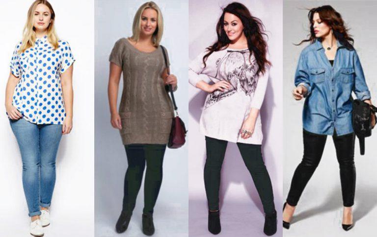 модные брюки и джинсы для полных женщин и девушек 2