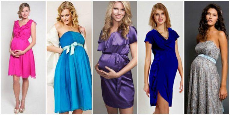 Какие платья носить беременным фото 71