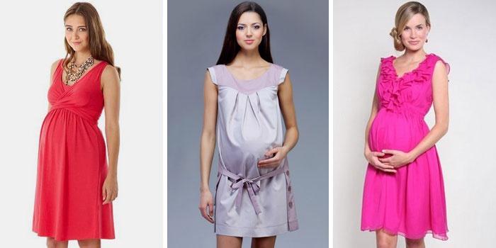 Модная одежда для беременных весна-лето 2017  мода и фасоны на фото ... fe4c33f200b