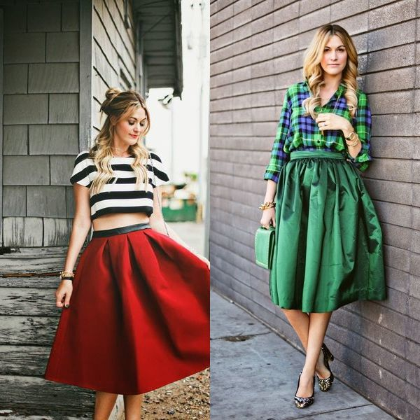 Красивые юбки мода