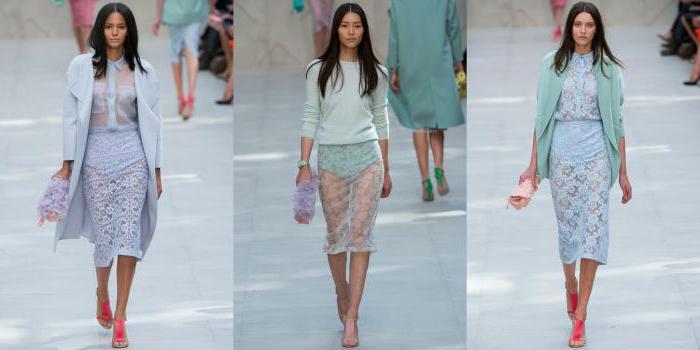 прозрачные юбки в сетку