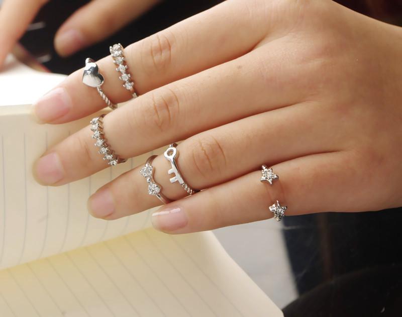 тонкие кольца