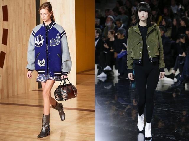 куртки в спортивном стиле