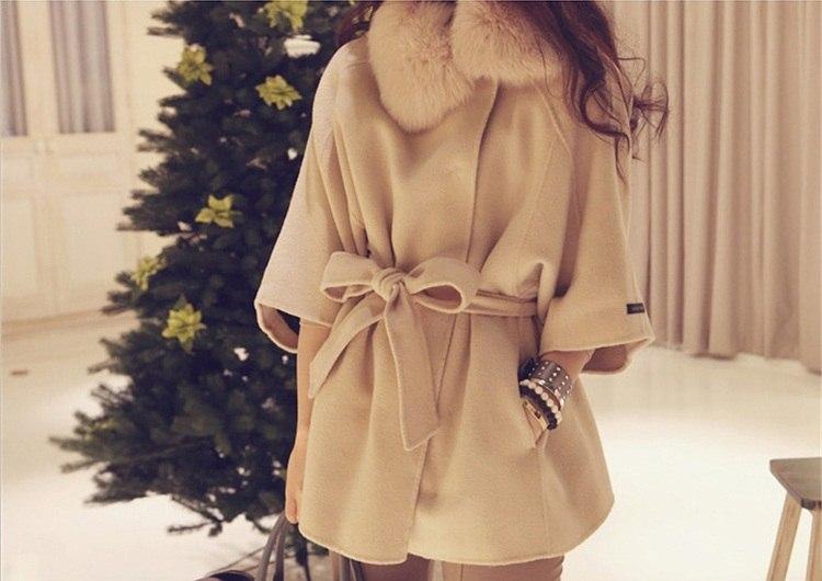 пальто «летучая мышь»