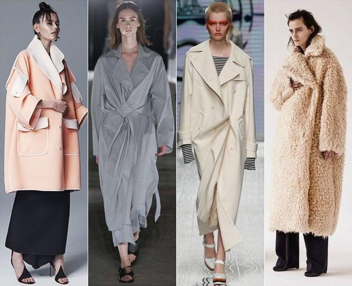 модные пальто весна 2017, красивые модели на фото 1