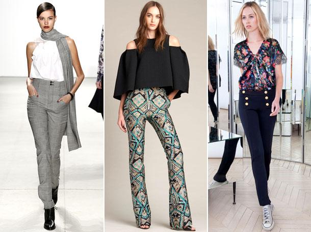 Модные женские брюки весна-лето 2017