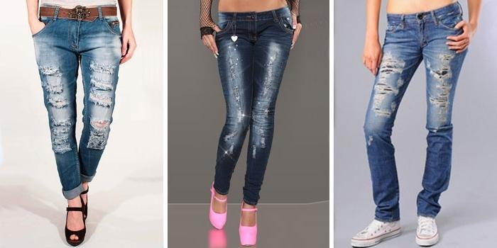 модные женские джинсы весна-лето 2017, фото 3