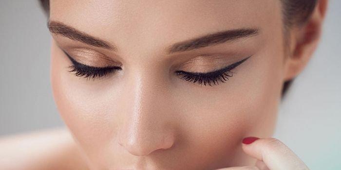 макияж ресниц