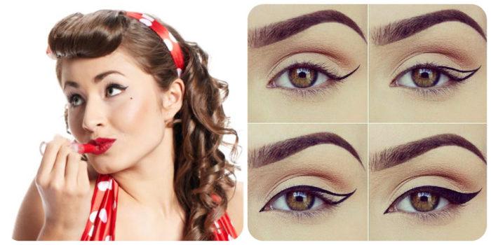 макияж глаз новинки на фото  4