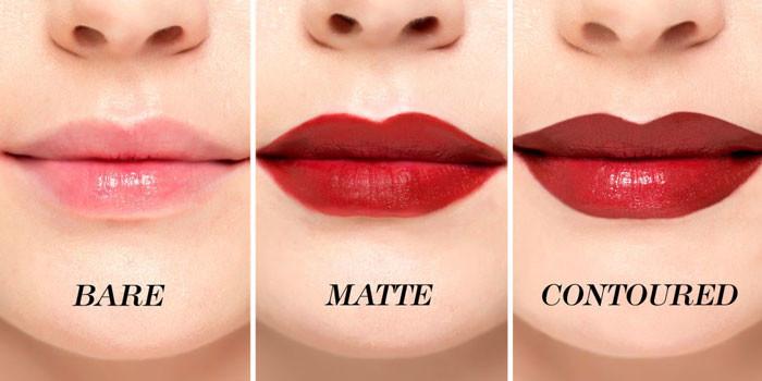 макияж губ новинки на фото 1