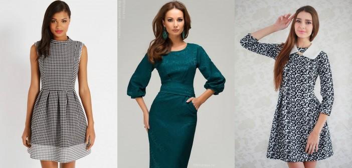 модные офисные (деловые) платья весна-лето 2017, фото 5