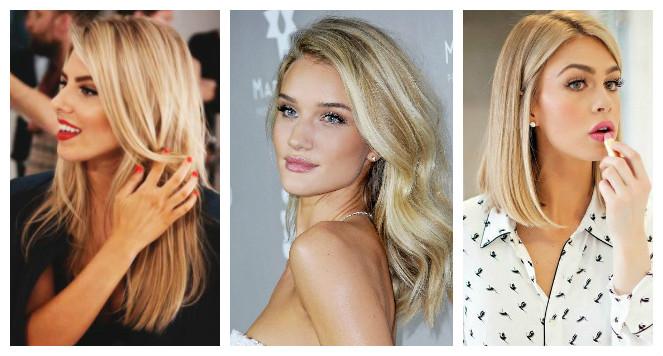 модный блонд весна-лето 2017, оттенки окрашивания на фото 2