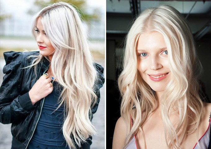 модный блонд весна-лето 2017, оттенки окрашивания на фото 4