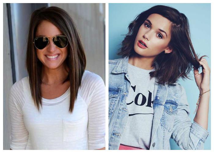 Модные стрижки 2017 на волосы для девушек