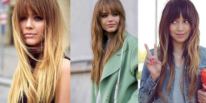 красивые стрижки на длинные волосы весна-лето 2017, модные тенденции на фото и тренды