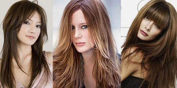 красивые стрижки на длинные волосы весна-лето 2017, модные тенденции на фото и тренды 3