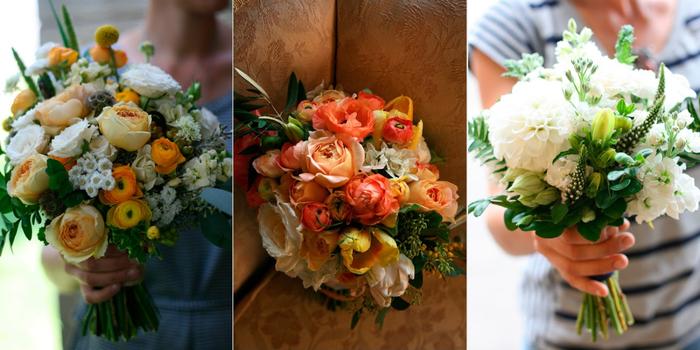 свадебный букет из полевых цветов 1