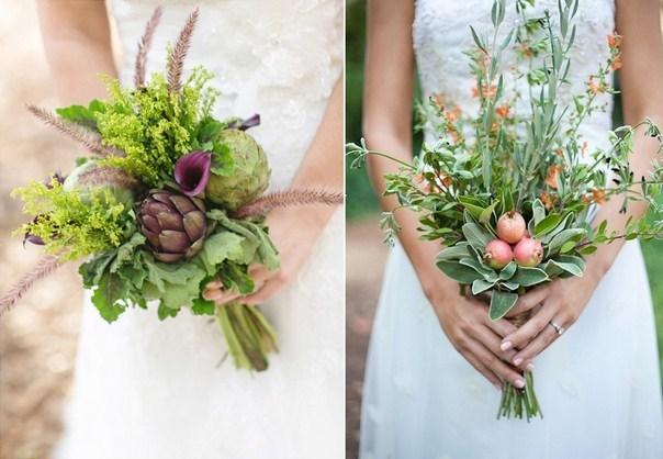 красивые и модные свадебные букеты весна-лето 2017, фото 1