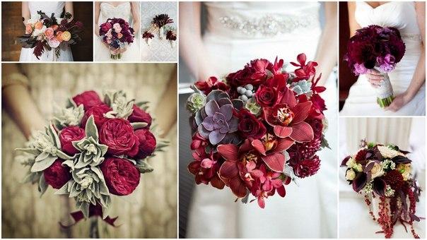 красивые и модные свадебные букеты весна-лето 2017, фото 3