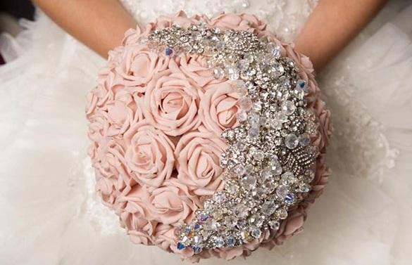 красивые и модные свадебные букеты весна-лето 2017, фото 7