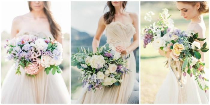 свадебный букет из полевых цветов 4