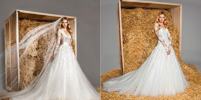 свадебное платье принцесса 6