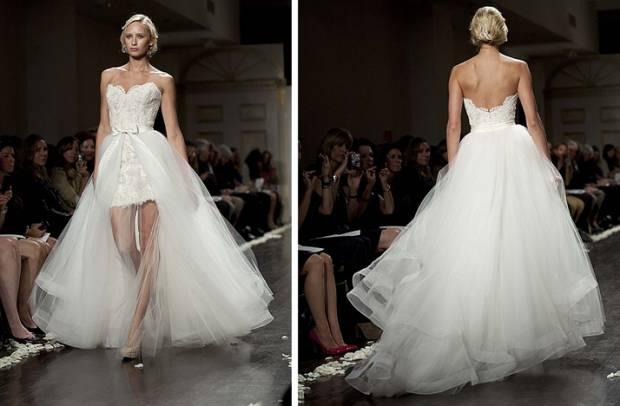 свадебное платье трансформер 1