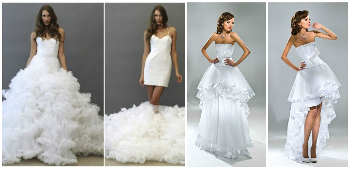 свадебное платье трансформер 2