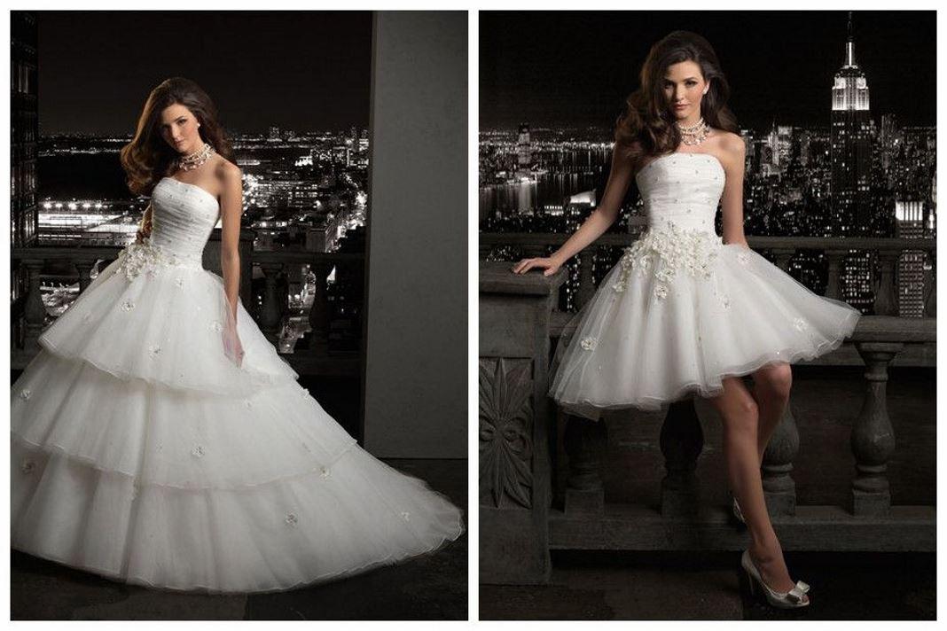 свадебное платье трансформер 3