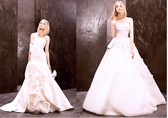 свадебное платье бюстье 2