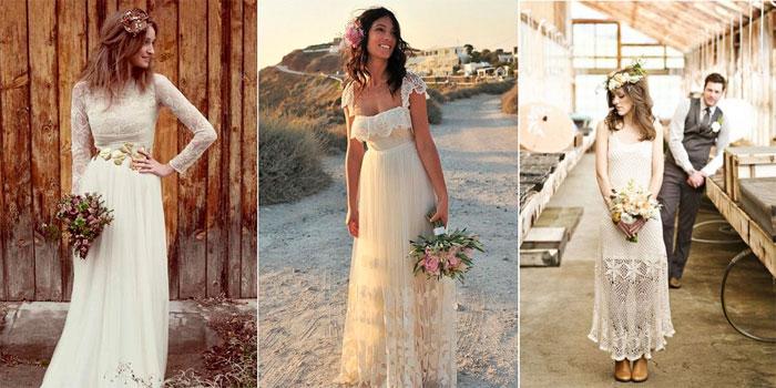 кружевные свадебные платья 2